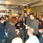 Russische Tombola Januar 2010 im Café Kairo in Bern / Русская лотерея в кафе Кайро в Берне
