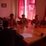 Das erste Treffen im September 2010 im alten Stiftungshaus. / Первая встреча 2010 в старом доме фонда.