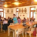Vortrag im Mai 2011 im Burgersaal in Raron.