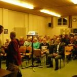 Der jährliche Vortrag unseres Stiftungsleiters in Pfeffikon. /Ежегодный отчет нашего руководителя в Пфеффиконе.